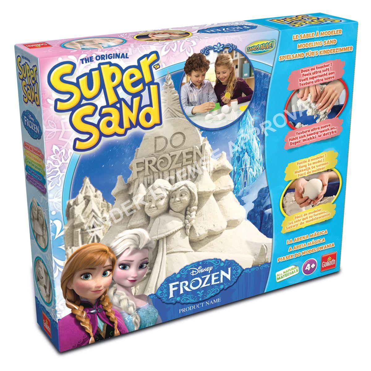 super sand reine des neiges