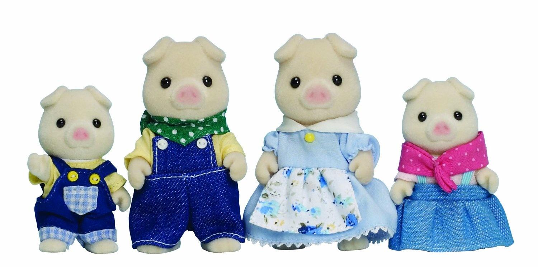 sylvanian families cochon