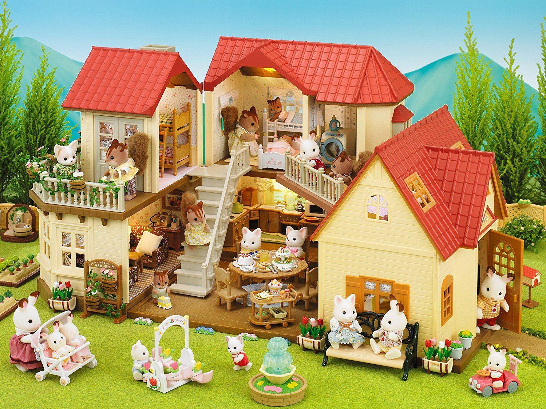 sylvanian families maison