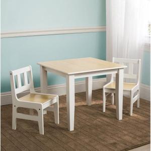table chaise enfant bois