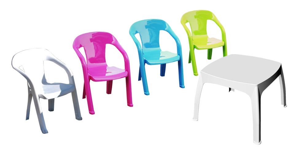 table chaise enfant plastique