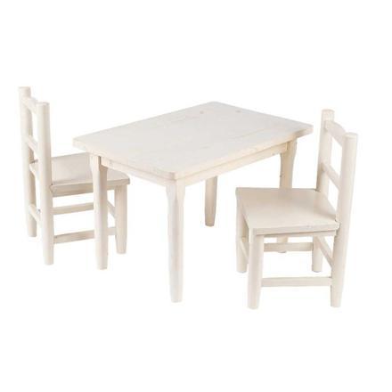 table et chaise petite fille