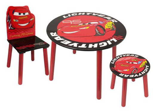 table et tabouret cars