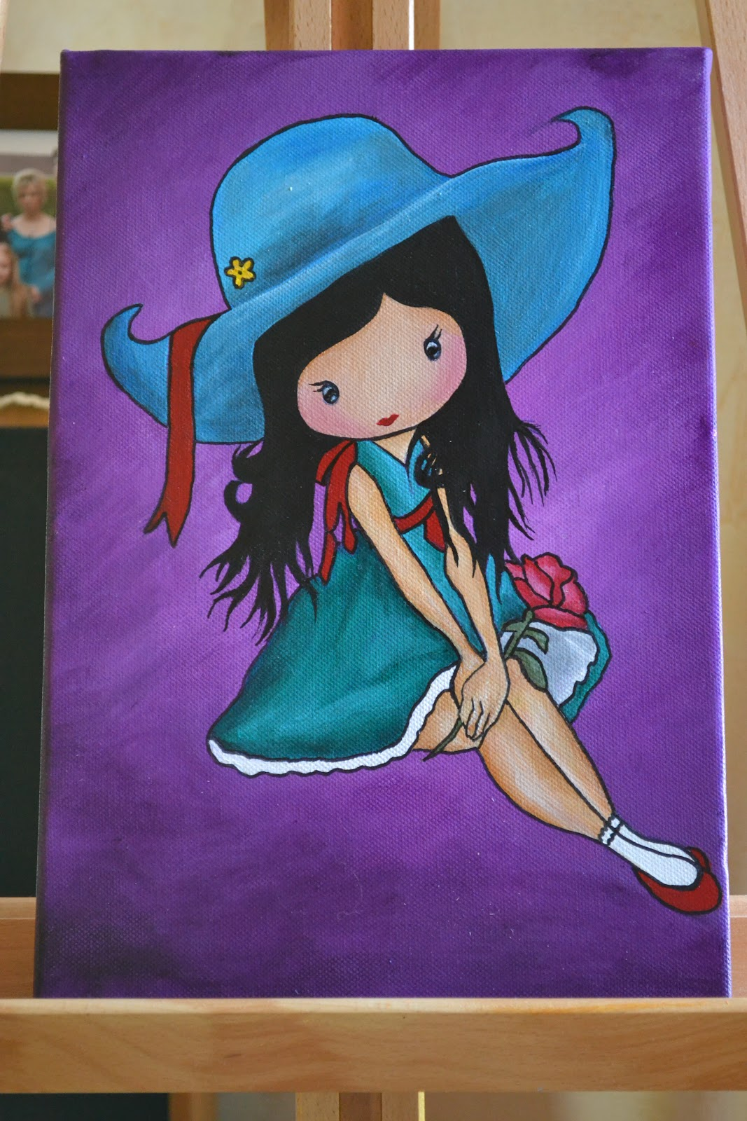 tableau de peinture pour enfant