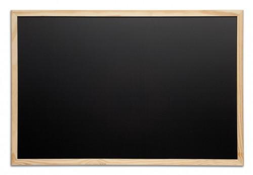 tableau noir en bois