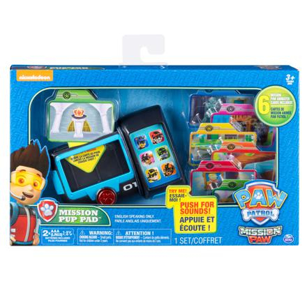 tablette mission paw patrouille