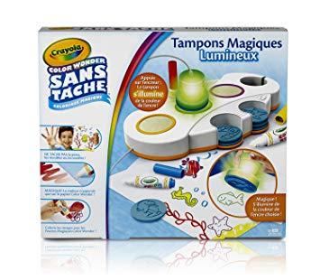 tampons magiques color wonder