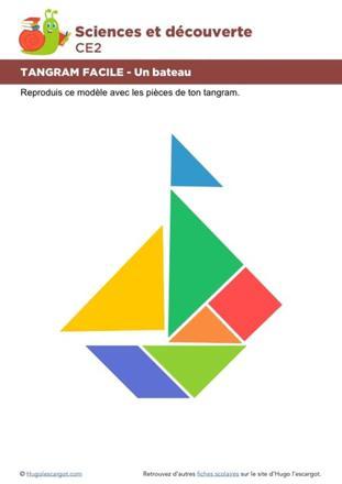 tangram bateau