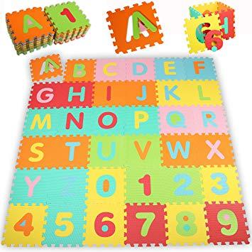 tapis bébé puzzle
