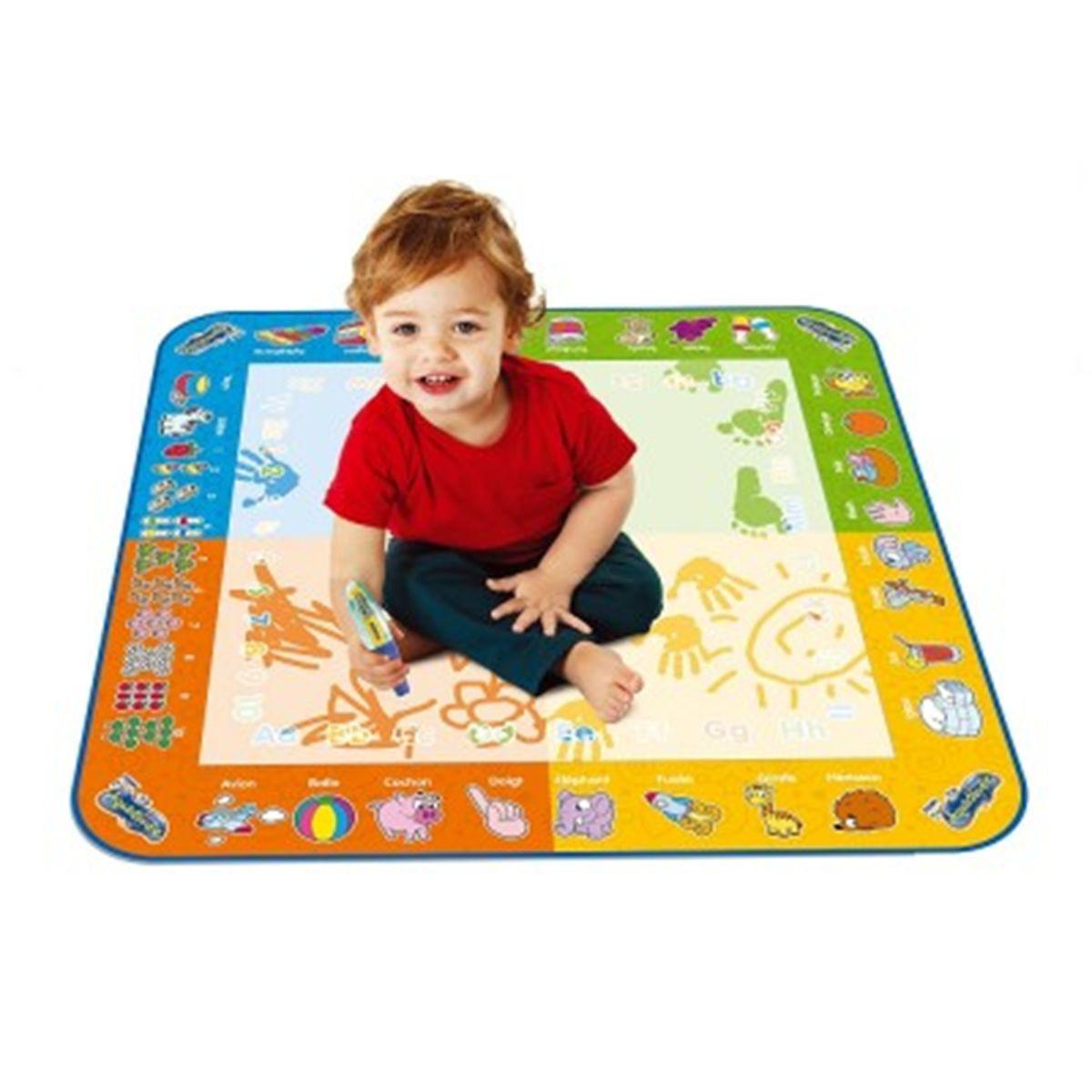 tapis dessin eau bébé