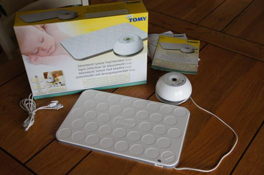 tapis détecteur de mouvement tomy