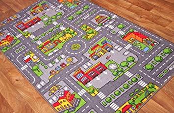 tapis enfant route