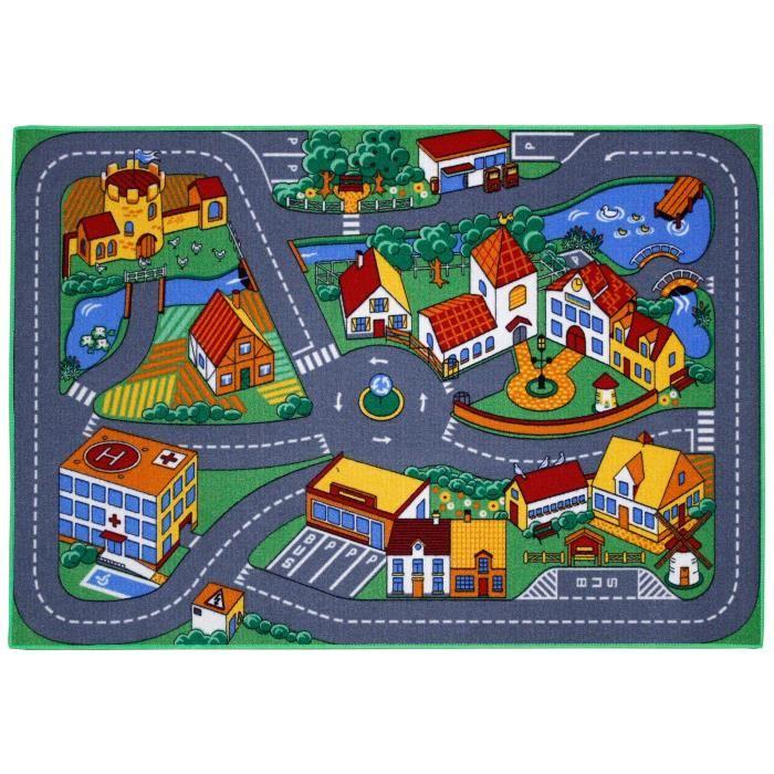 tapis enfant ville