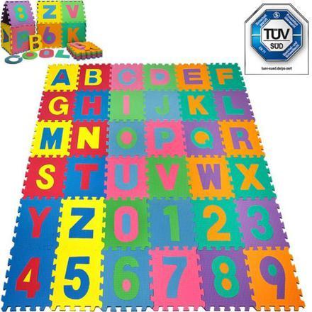 tapis puzzle mousse