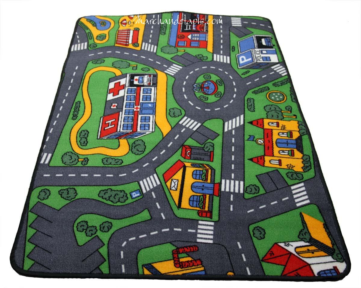 tapis sol circuit voiture