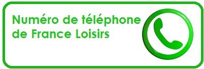telephone france loisirs