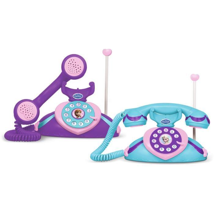 telephone reine des neiges