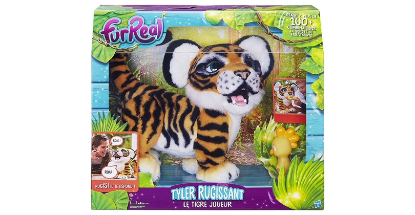 tigre interactif