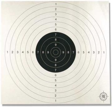 tir au fusil sur cible