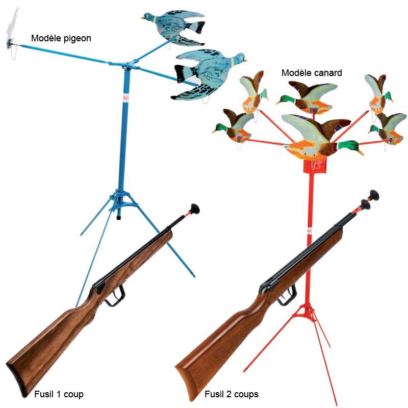 tir aux pigeons pour enfants