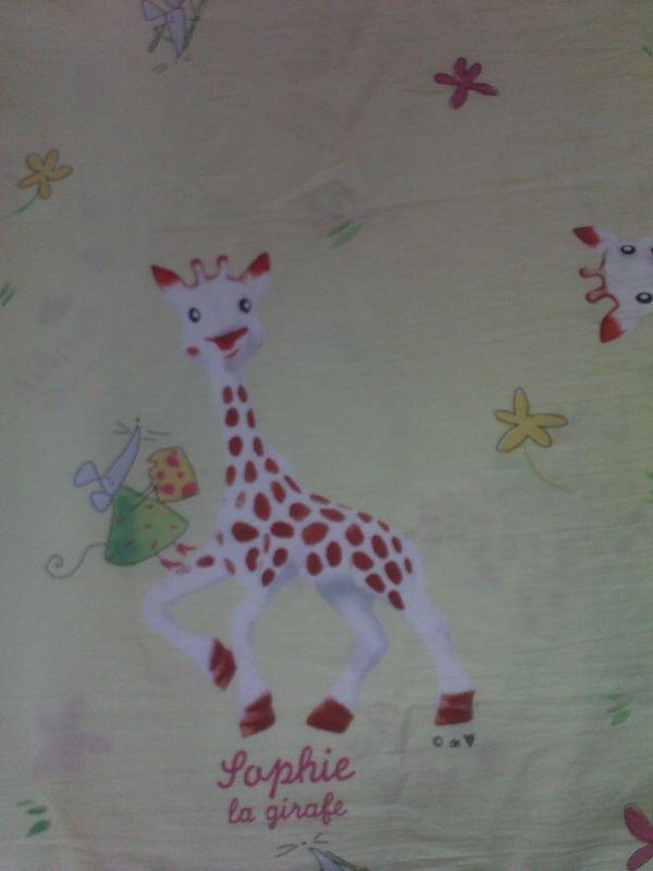 tissu sophie la girafe