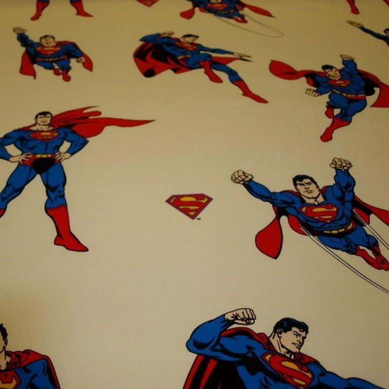 tissu superman