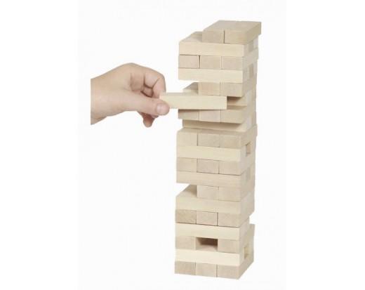 tour en bois jeu
