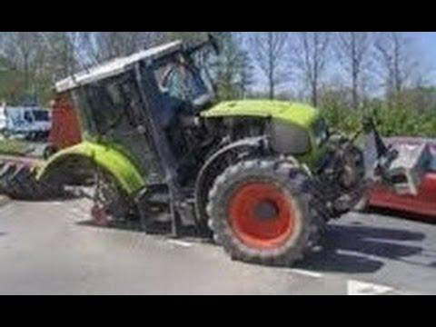 tracteur cassé