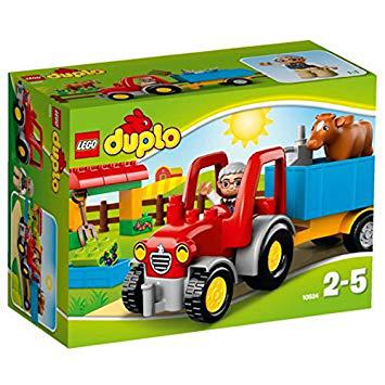 tracteur de la ferme lego duplo