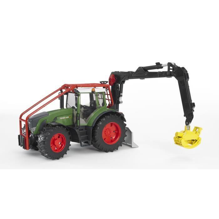 tracteur forestier bruder