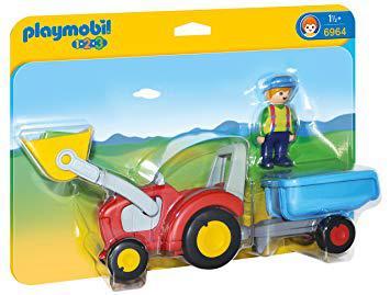 tracteur playmobil 123