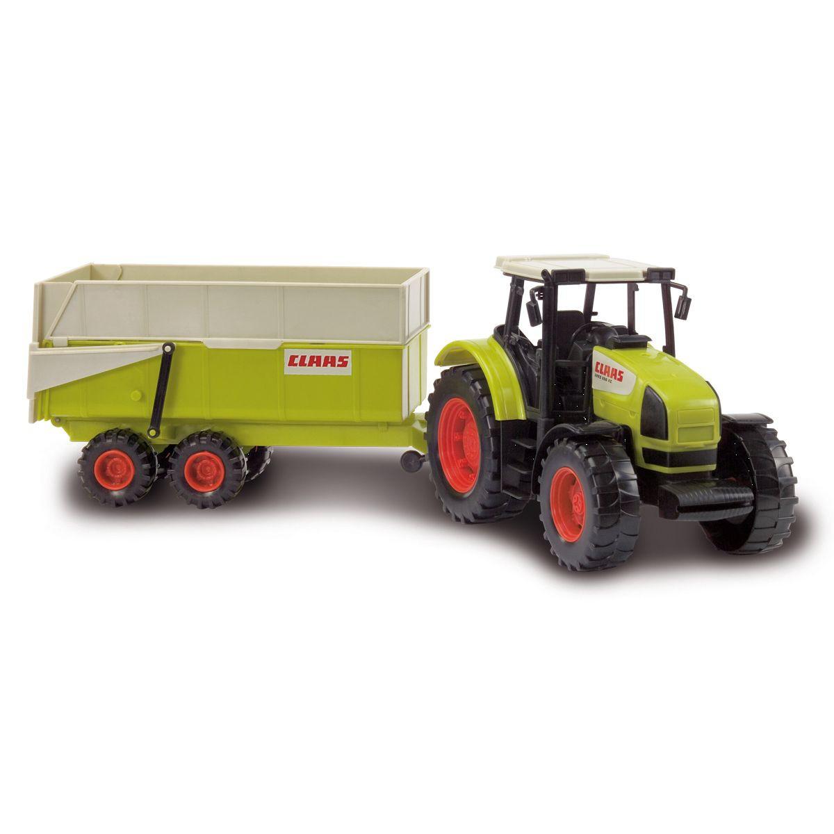 tracteur remorque jouet