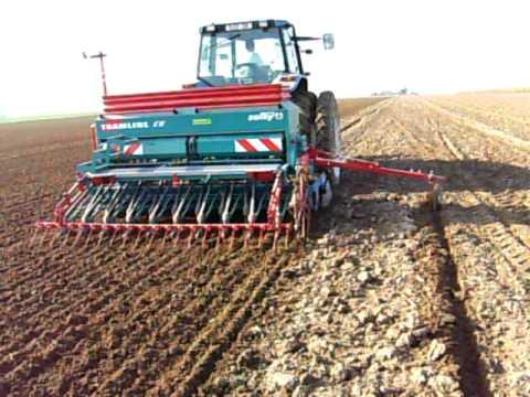 tracteur semoir
