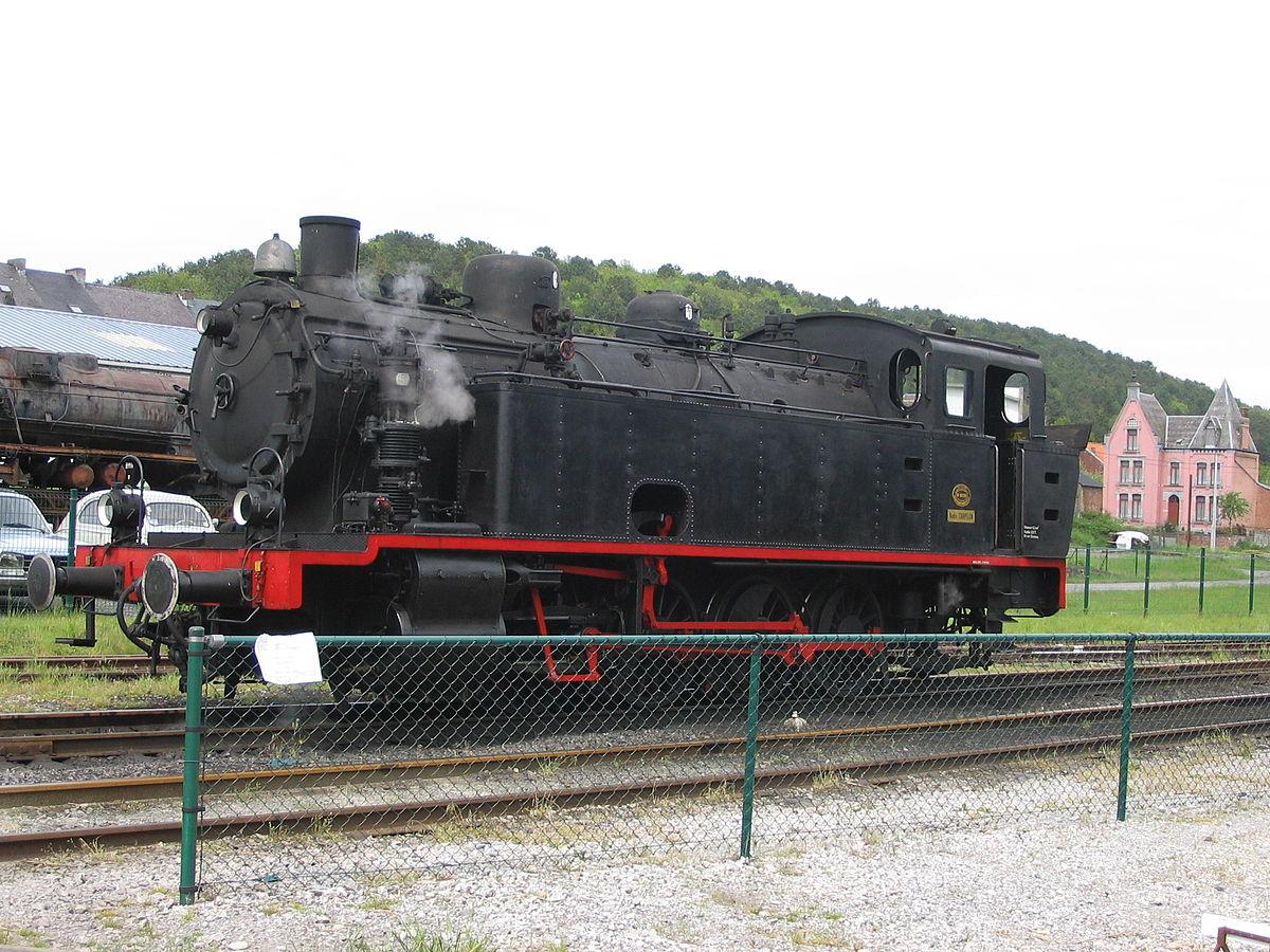 train à vapeur belgique