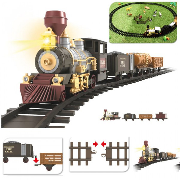 train electrique miniature noel