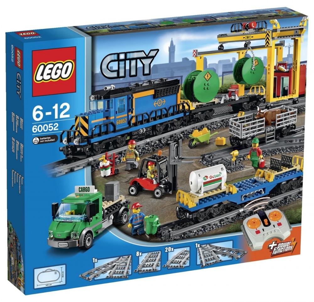 train marchandise lego