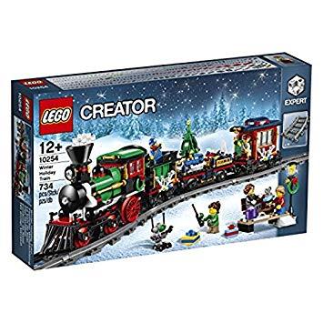train noel lego