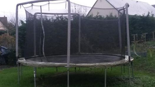 trampoline occasion