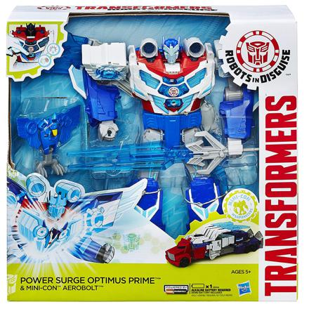 transformers power surge optimus prime