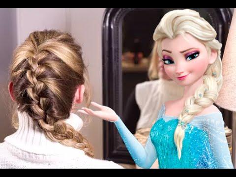tresse de la reine des neiges