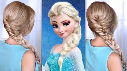 tresse elsa reine des neiges