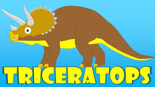 triceratops for kids