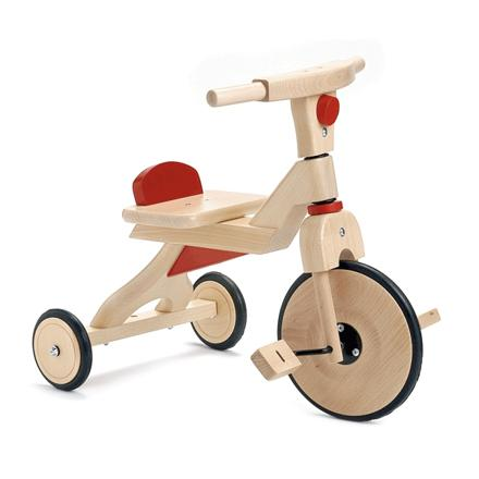 tricycle en bois pour bébé