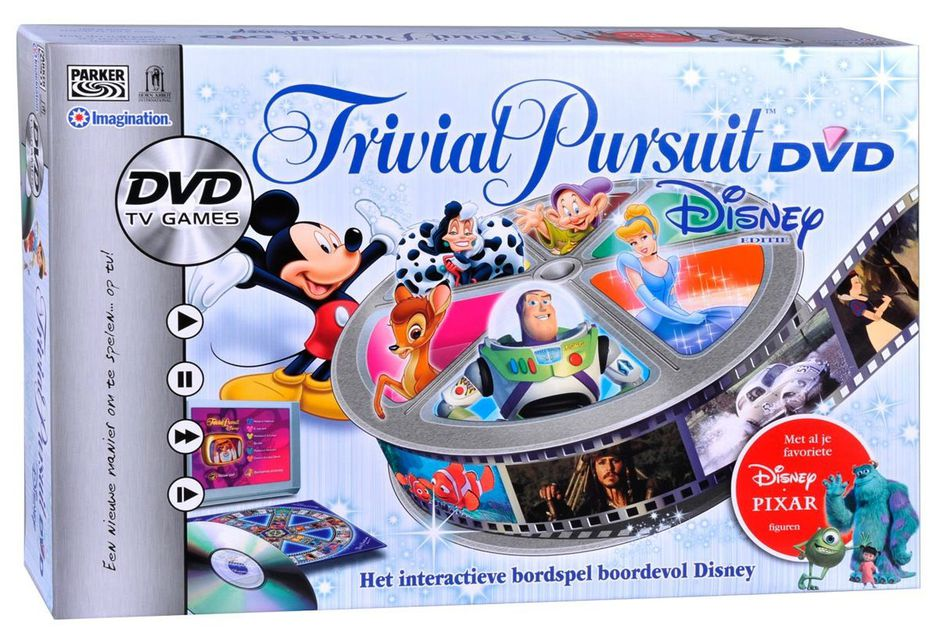 trivial pursuit dvd disney