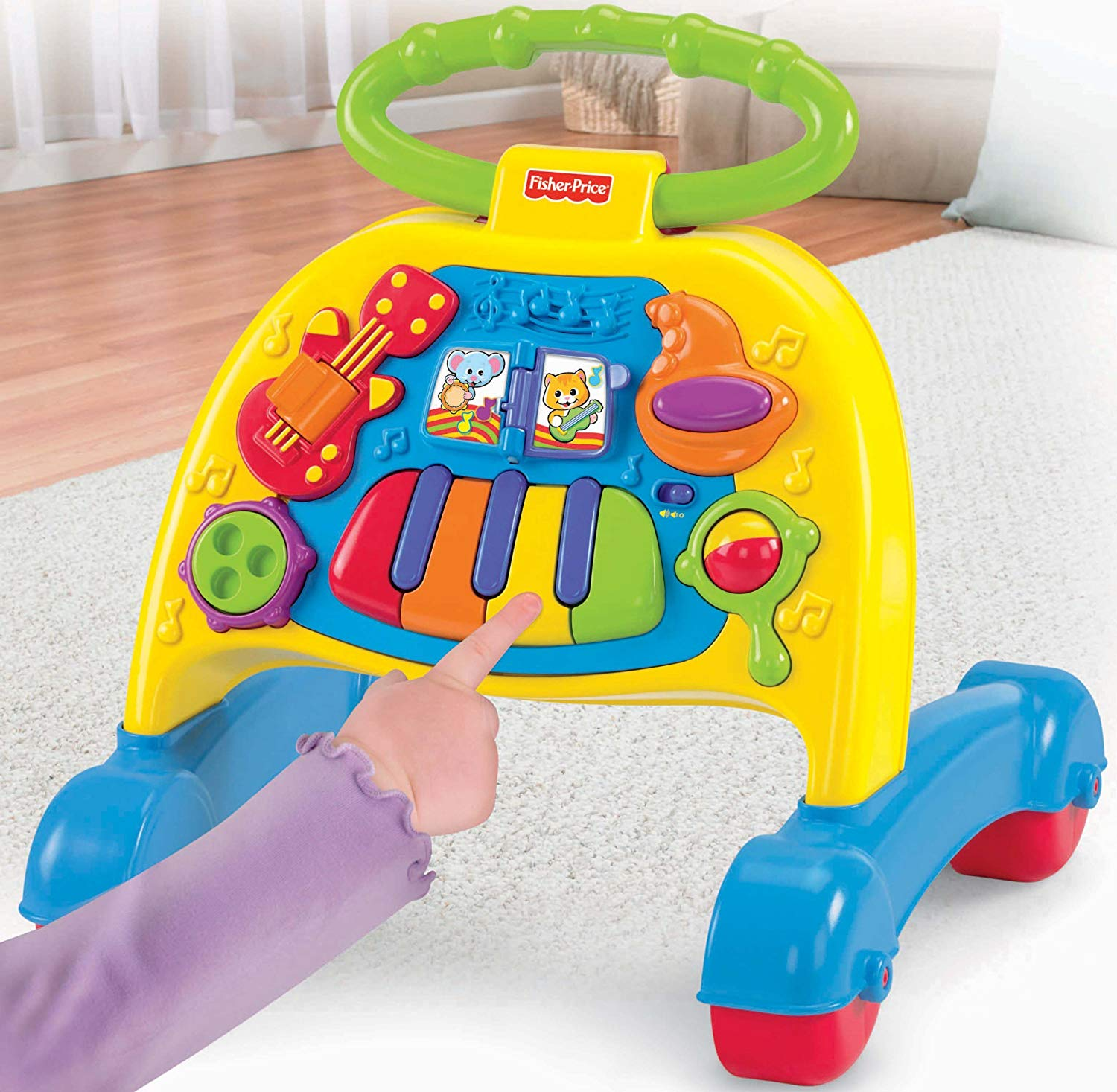 trotteur musical fisher price