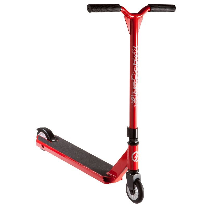 trottinette freestyle oxelo decathlon rouge