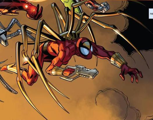 ultimate iron spider