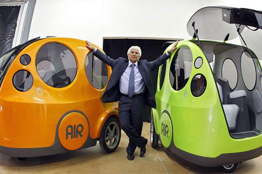 vehicule air comprimé