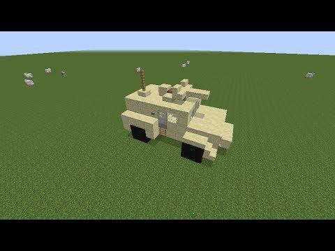 véhicule minecraft