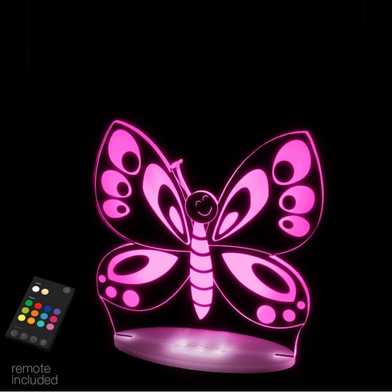 veilleuse papillon